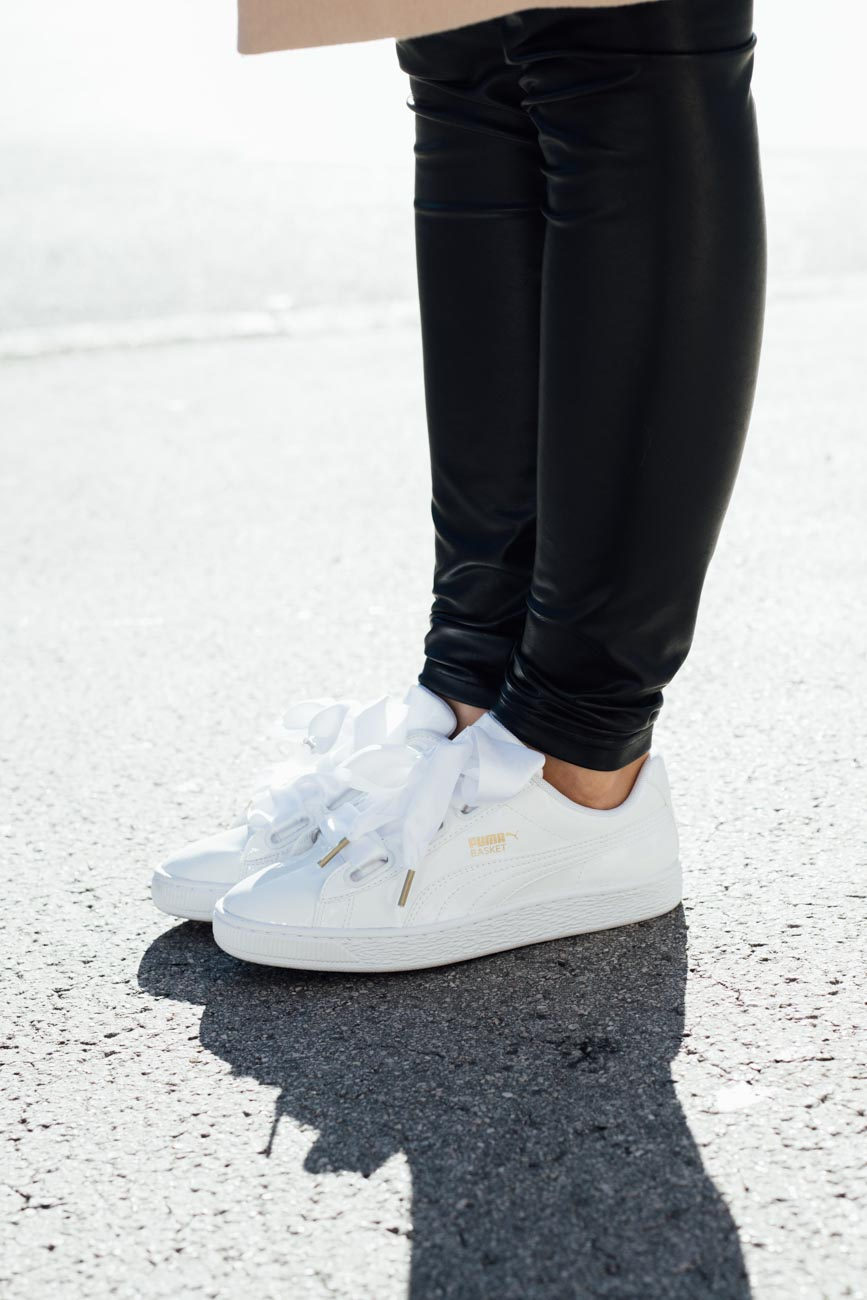 how to style puma sneakers
