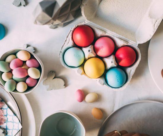 RECIPE: Homemade Mousse Au Chocolate Eggs & Easter Deco with EOS | www.yourockmylife.com