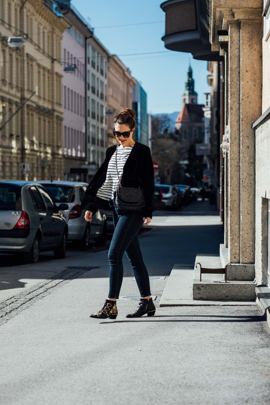 Outfit: How to be Parisian - Stripes, Chanel, Chloé   www.yourockmylife.com-55