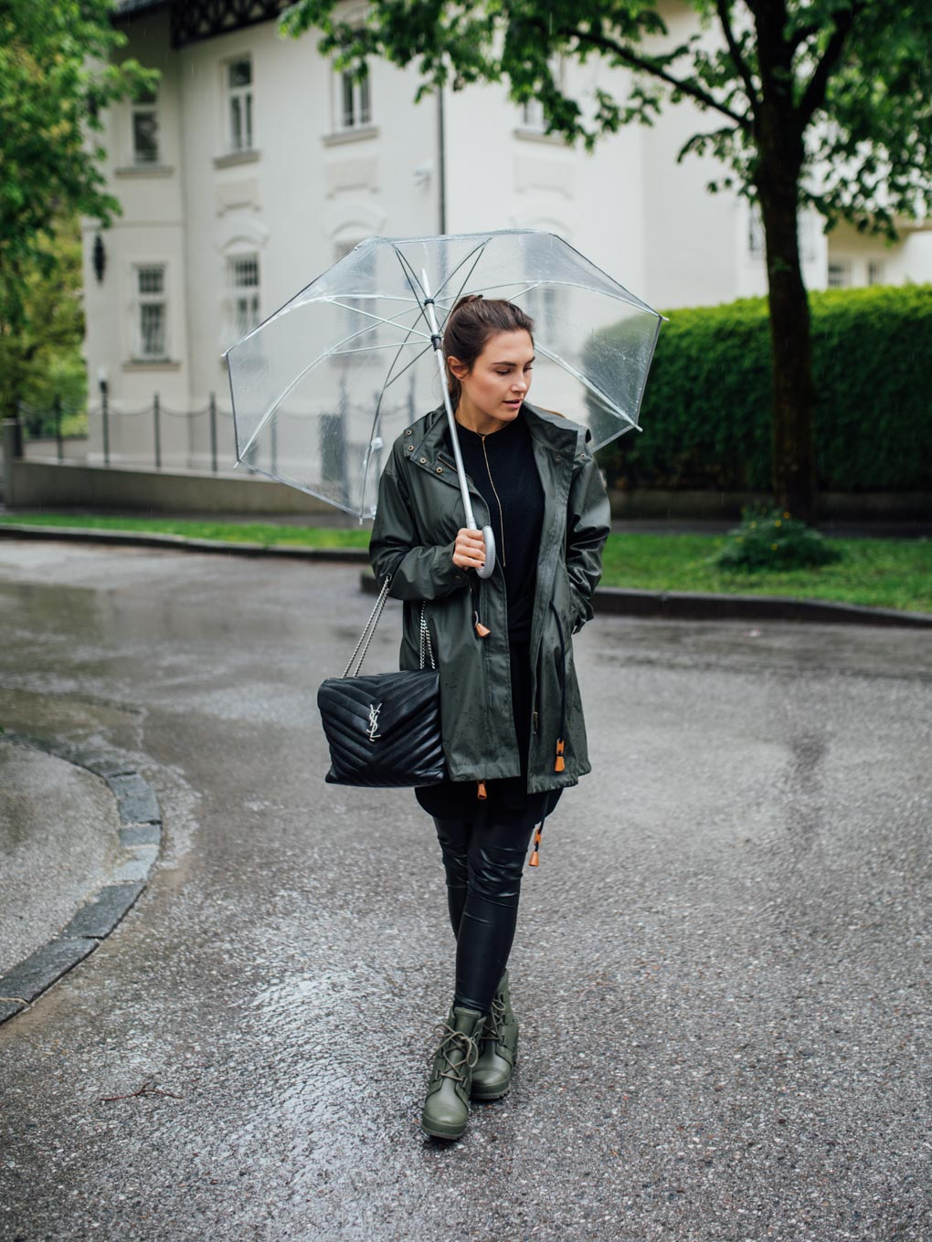 Outfit: Rainy Summer Day | Sorel Rain Boots | You Rock My Life