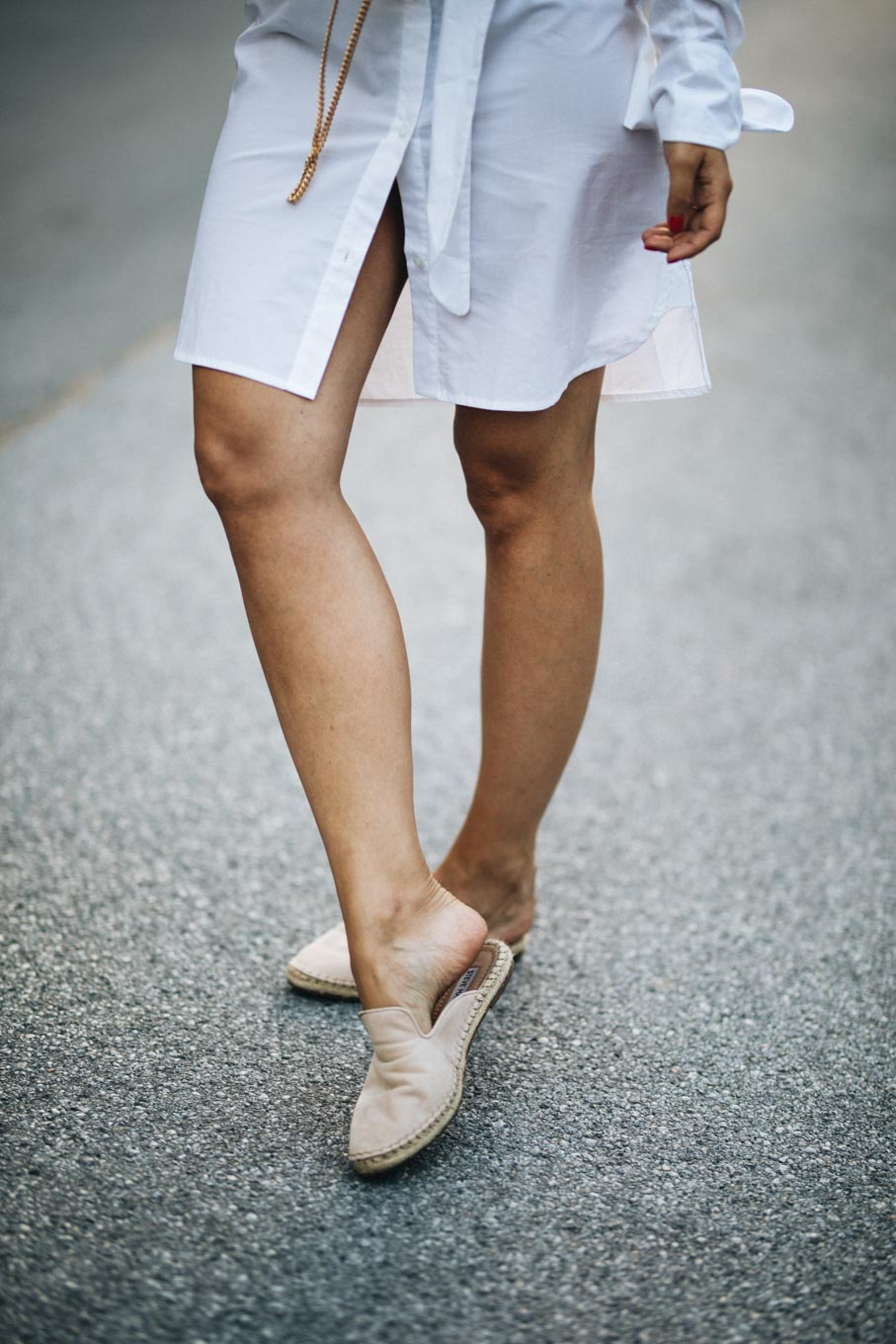 Outfit: Summer Time And The Living Is Easy | About You | White Dresses | You Rock My Life