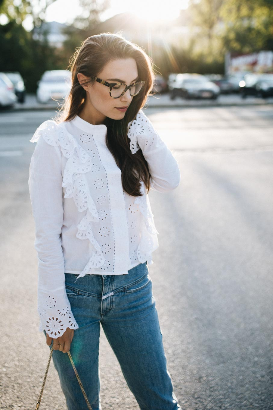 Outfit: How To Make Ruffles Look Cool | You Rock My Life