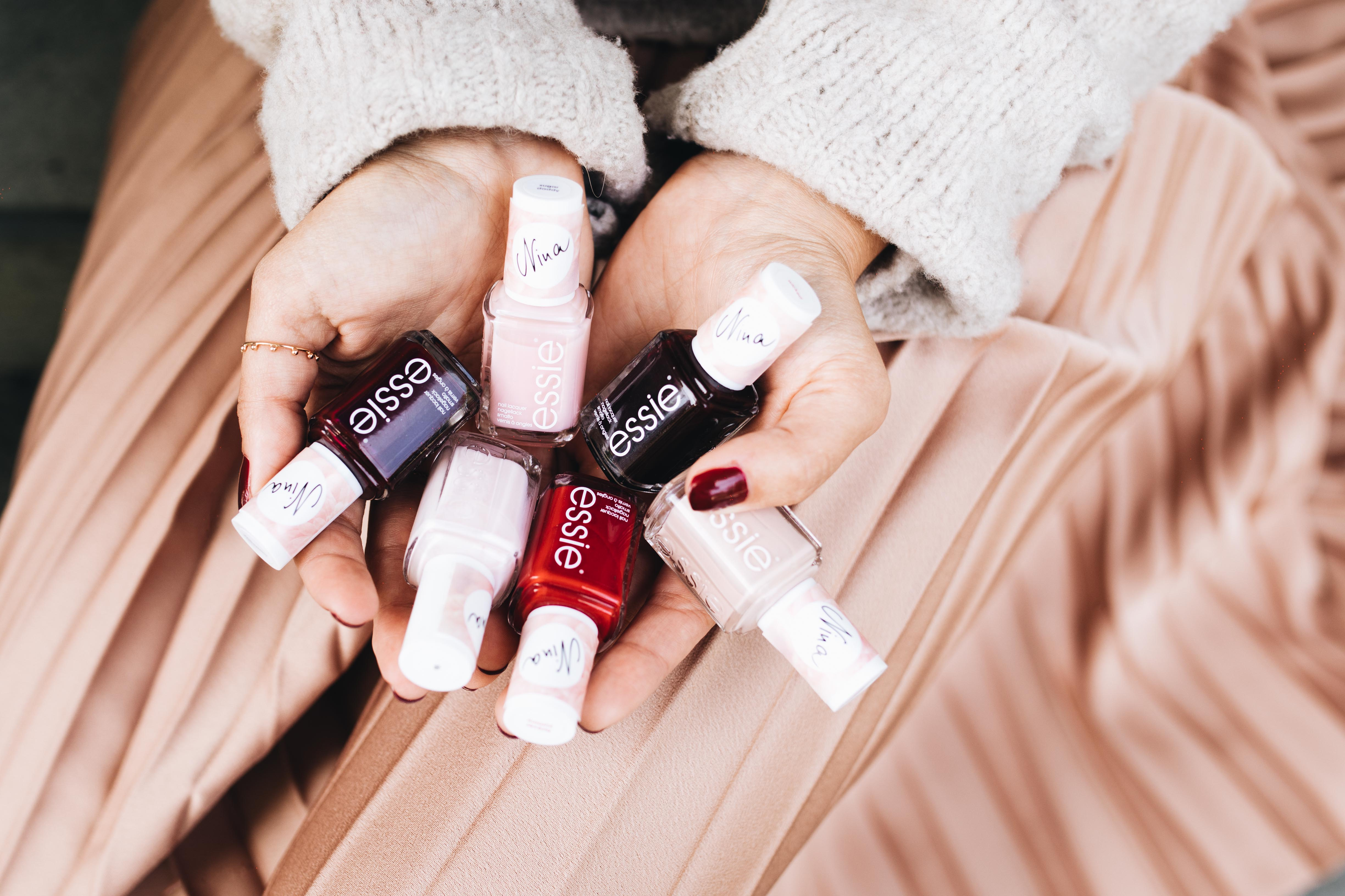 Beauty: You Rock My Life Nailpolish Collection x Essie