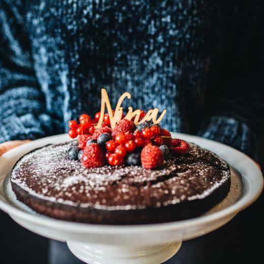 Recipe: Vegan Chocolate Cake   Teekanne Fresh - You Rock My Life