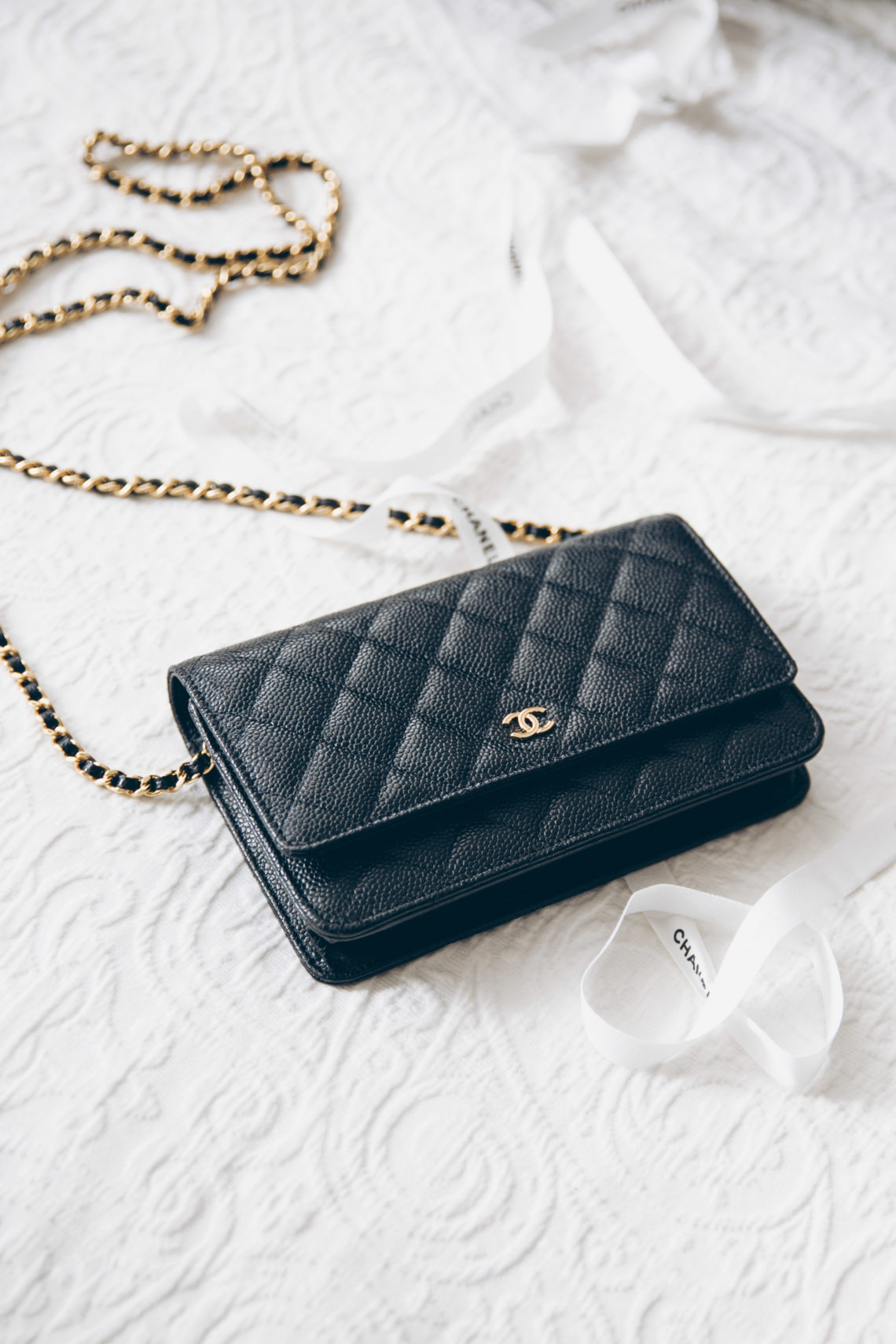 74dde031da50 Review: Chanel Wallet on Chain WOC - You rock my life