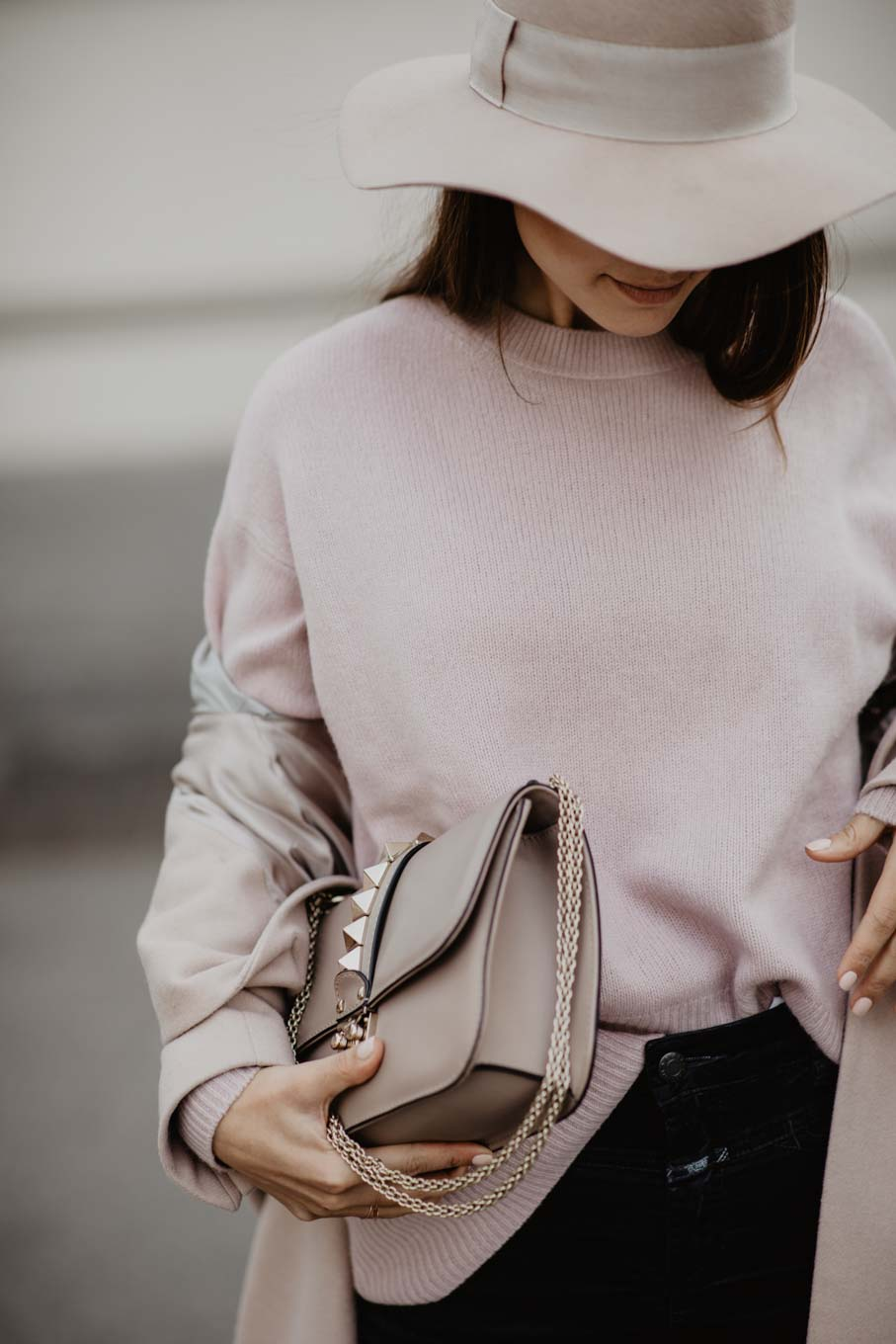 Outfit: Blush Pink In Winter | you rock my life