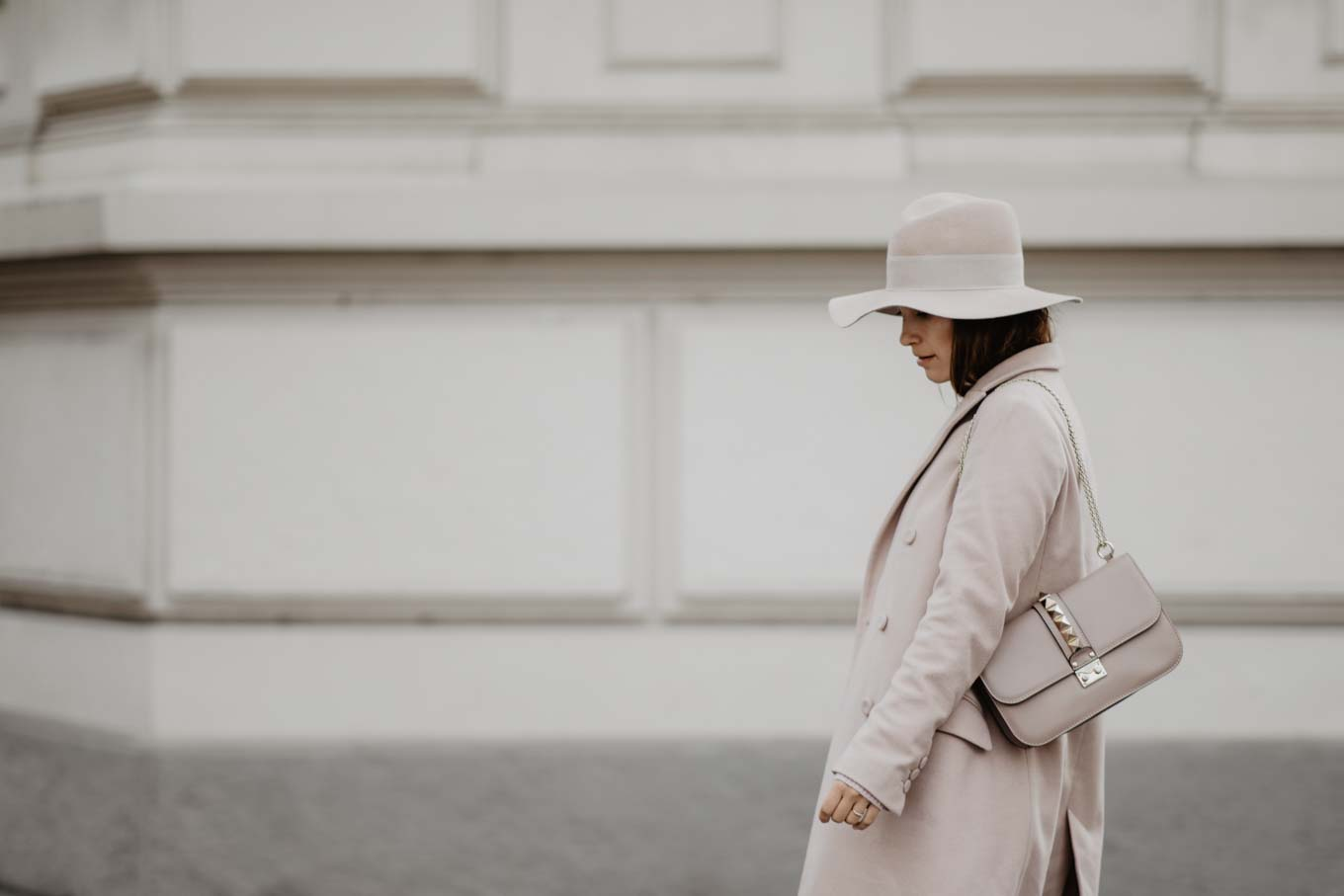 Outfit: Blush Pink In Winter   you rock my life