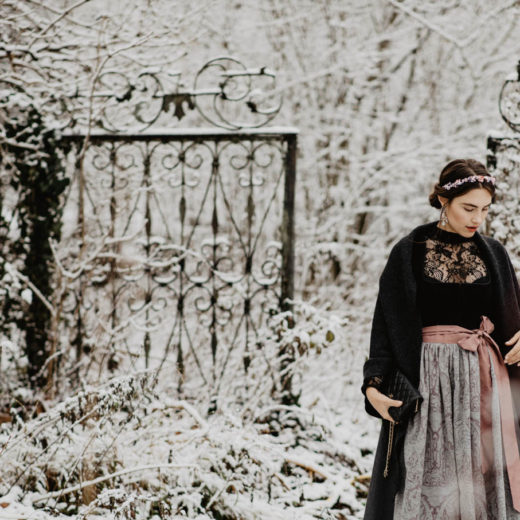 How To Style A Dirndl In Winter | you rock my life