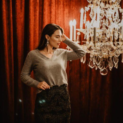 How To Wear: Casually Glamorous Holiday Attire - Chanel Slingbacks | you rock my life