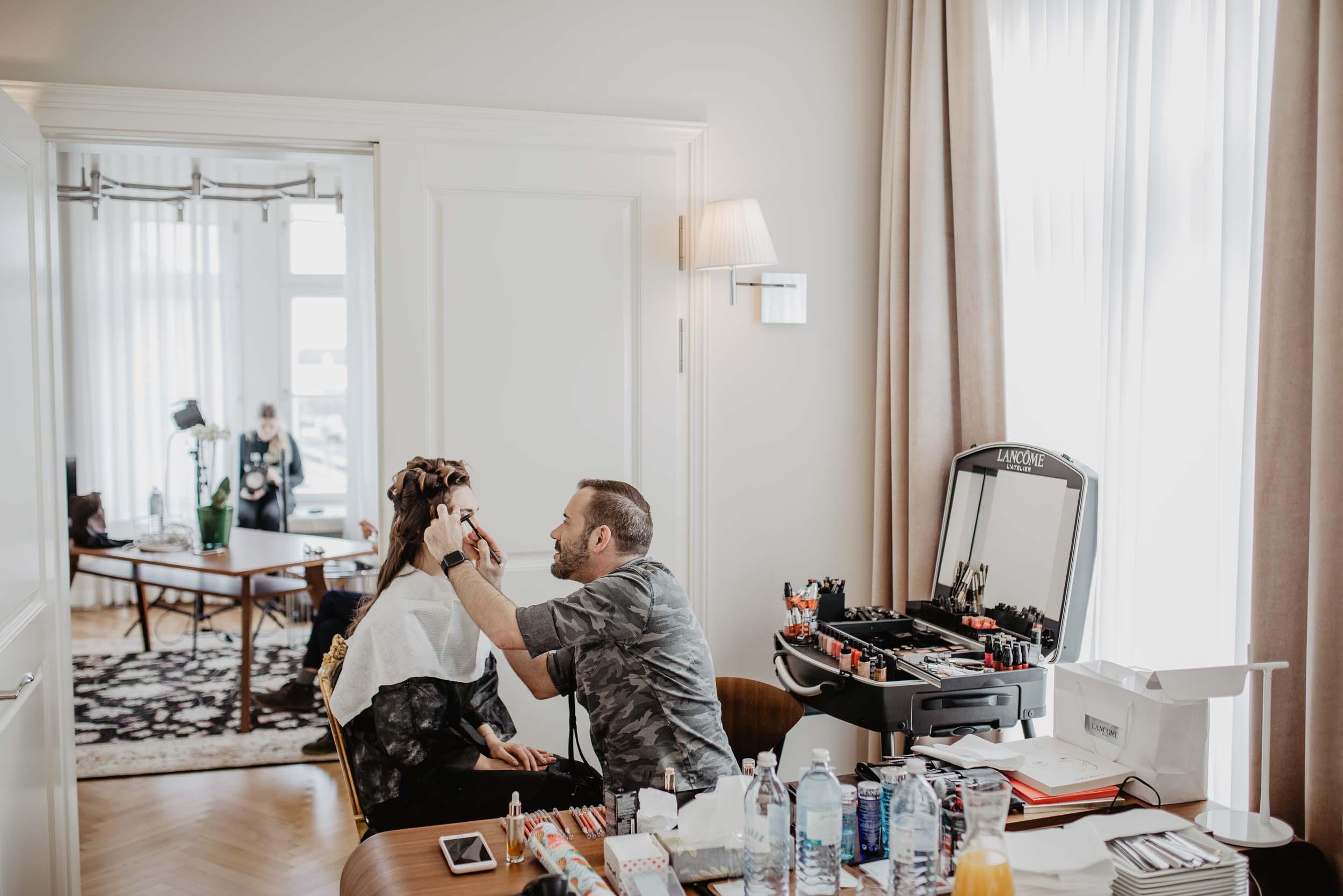 Beauty: Absolut Beautiful x Lancôme Cover Shooting   you rock my life