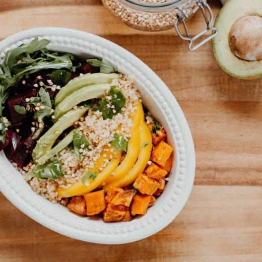 Tasty & Healthy: Quinoa Rainbow Lunch Bowl | you rock my life