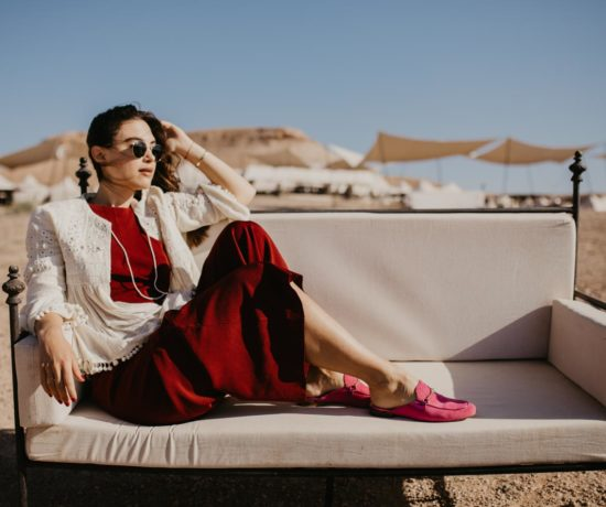 How to wear: Red and Pink - Högl Slippers | you rock my life