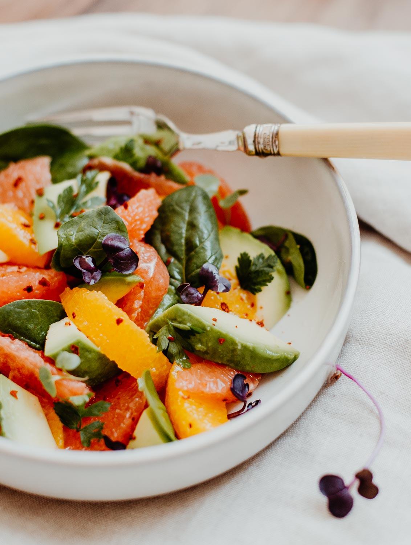 Recipe: Citrus & Avocado Salad | You Rock My Life