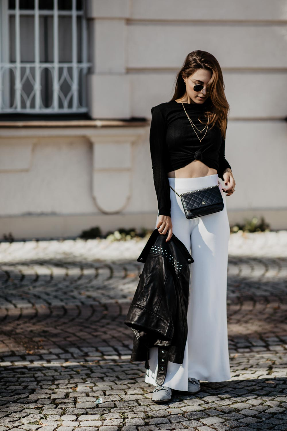 OUTFIT: The Pants You Need This Fall | Palazzo Pants | You Rock My Life