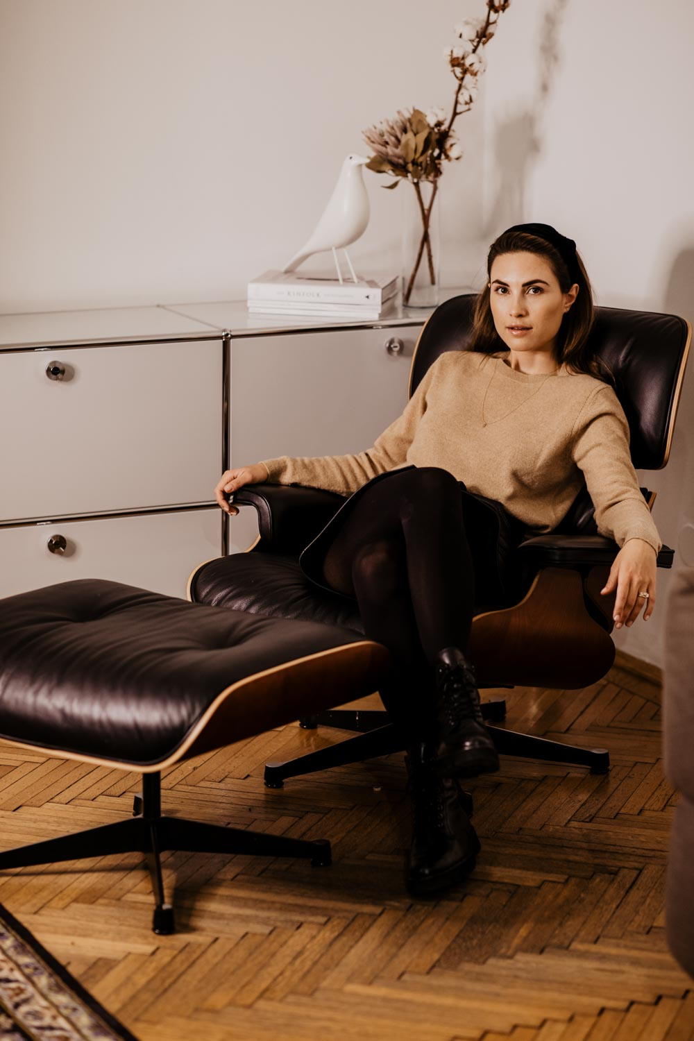 vOutfit: Office Days - Leather Skirt | You Rock My Life