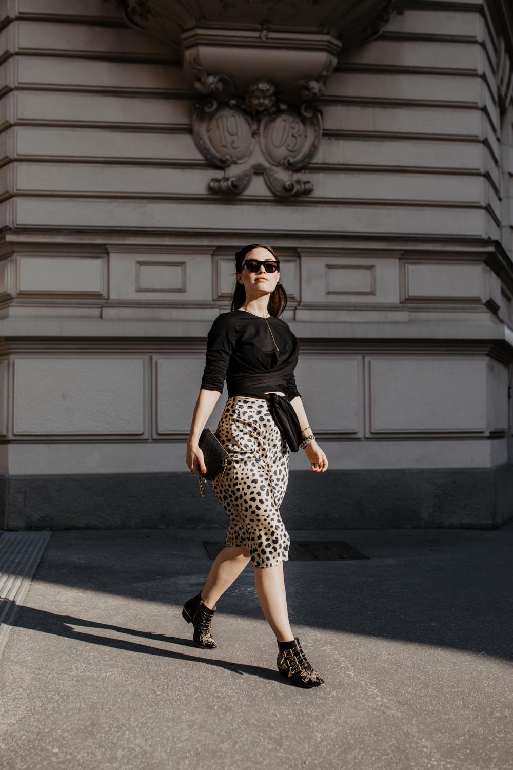 Outfit: The Leopard Skirt - Réalisation Par | you rock my life @ninawro