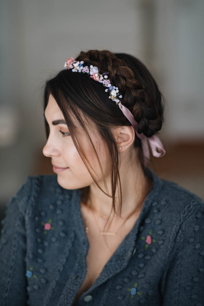 Quick and Easy Dirndl Hairstyle for the Wiesn | You Rock My Life